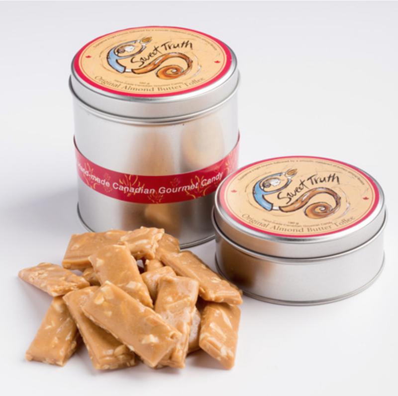 sweet tooth original almond butter crunch toffee