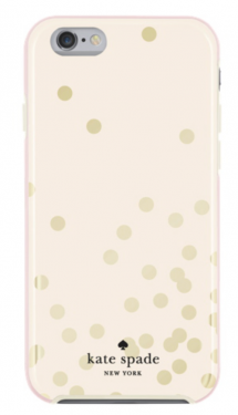Kate Spade New York Confetti iPhone 6/6s Fitted Hard Shell Case (available exclusively at Best Buy) $44.99.png