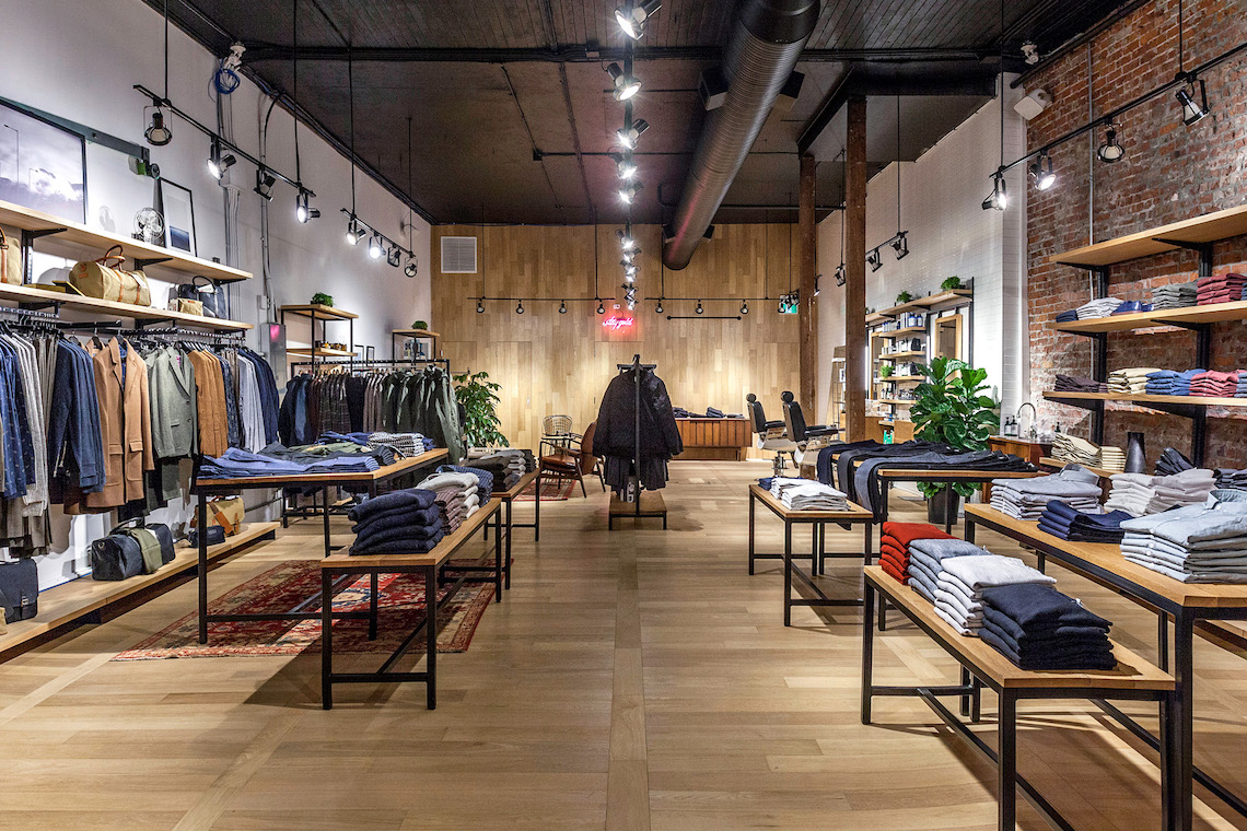 frank amp oak opens new gastown store modern mix vancouver