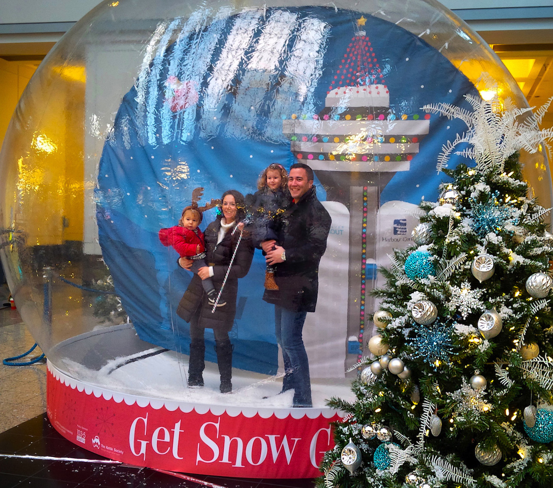 harbour centre snowglobe 2015