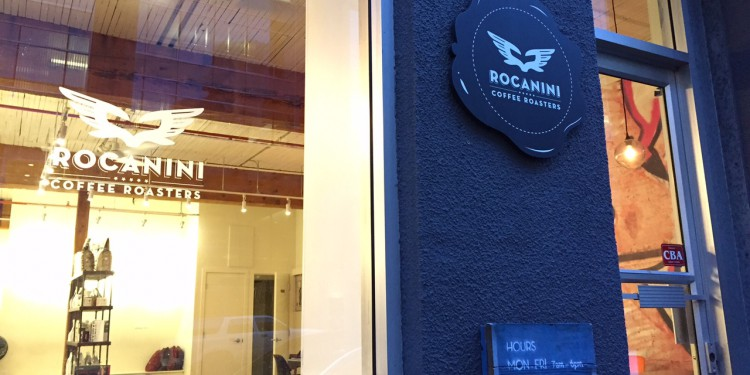 Rocanini Coffee Roasters: 863 Beatty St in Yaletown