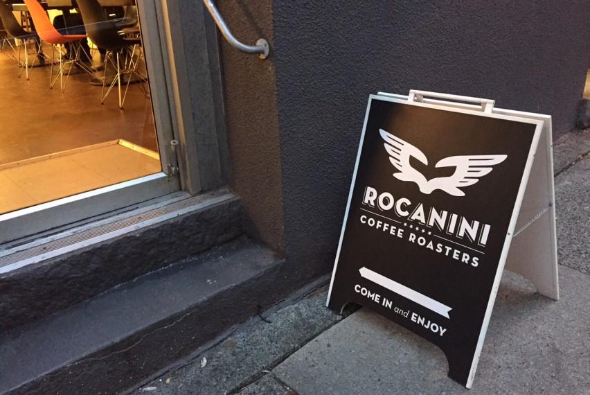 Rocanini Coffee Roasters: 863 Beatty St in Yaletown