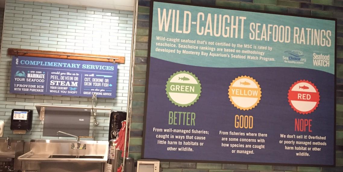 Whole Foods Seafood Bar