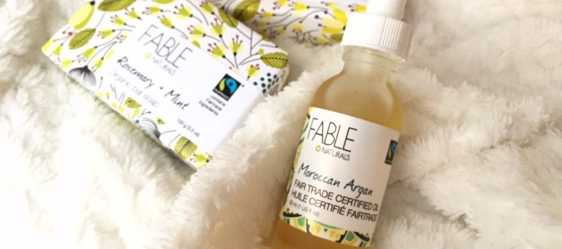 fable naturals fair trade argan oil