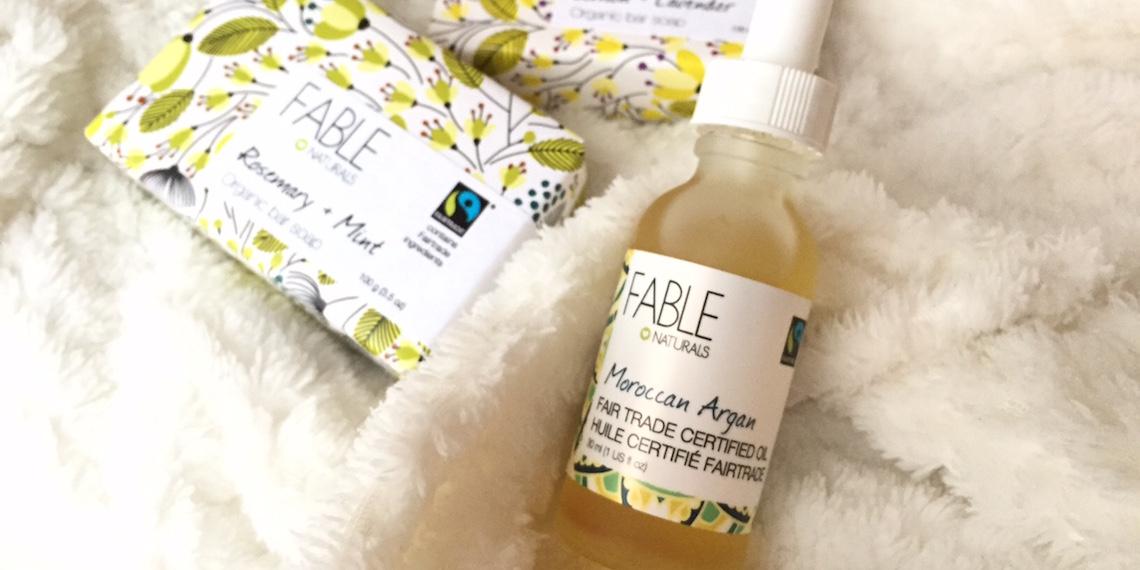 fable naturals fair trade argan oil