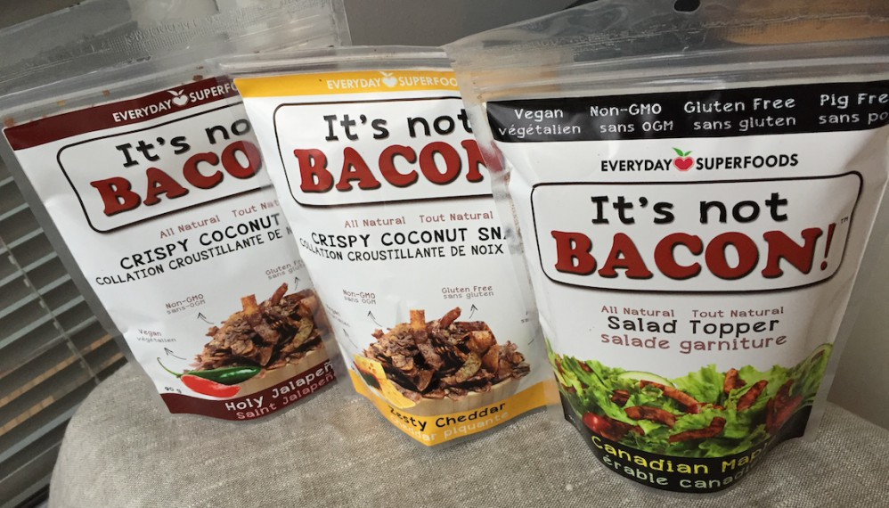 it's not bacon coconut flakes
