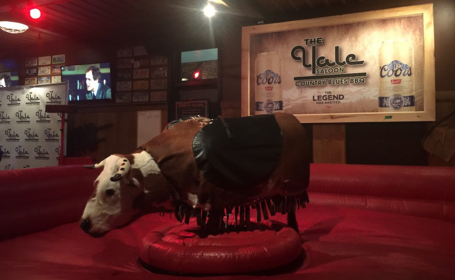 mechanical bull vancouver