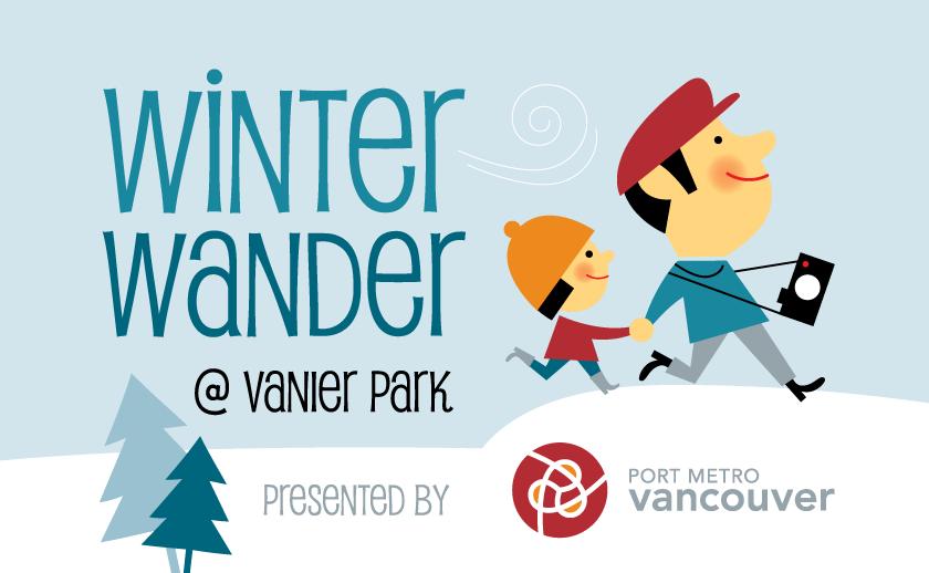 winter wander at vanier park