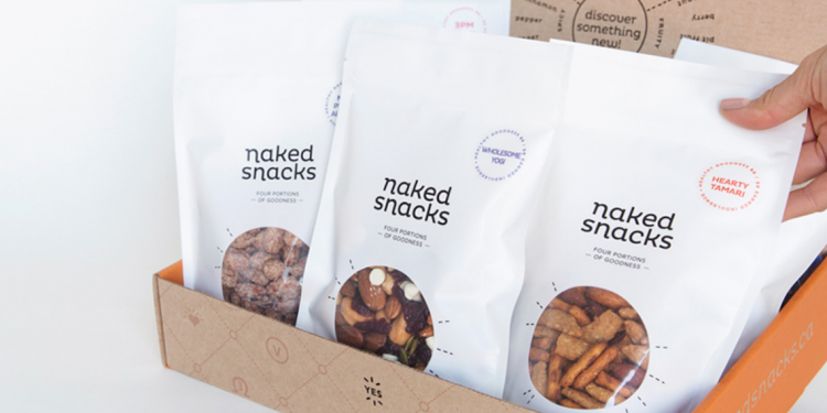 Naked Snacks: Gourmet Snack Mix Delivery Service