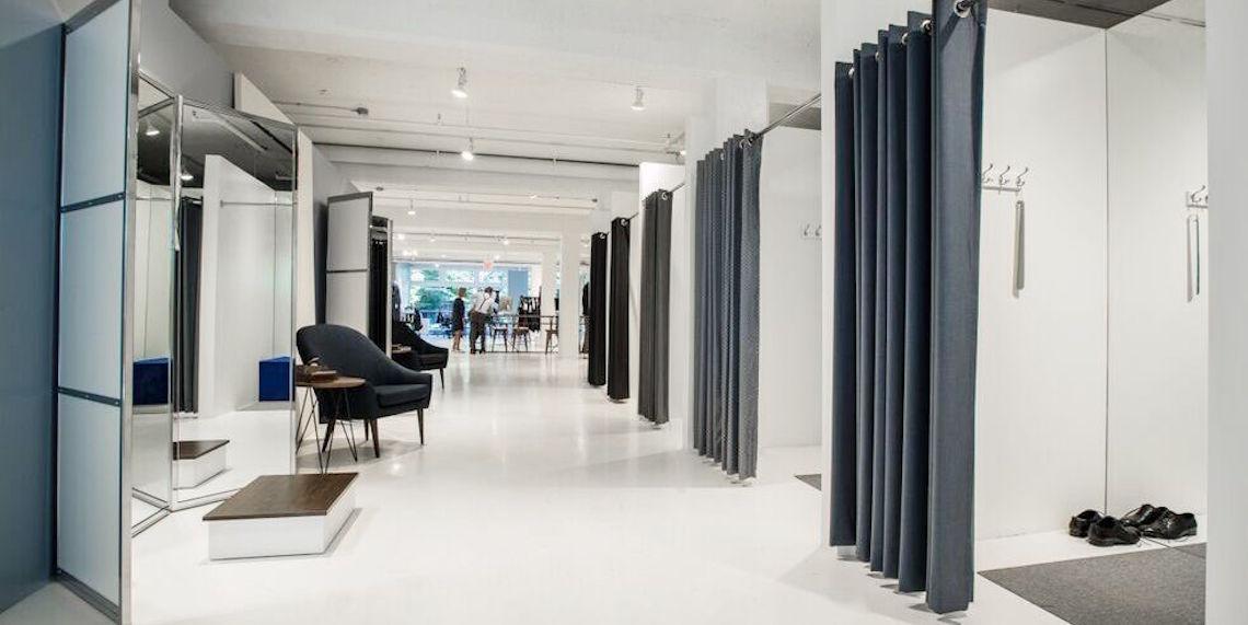 Indochino showroom