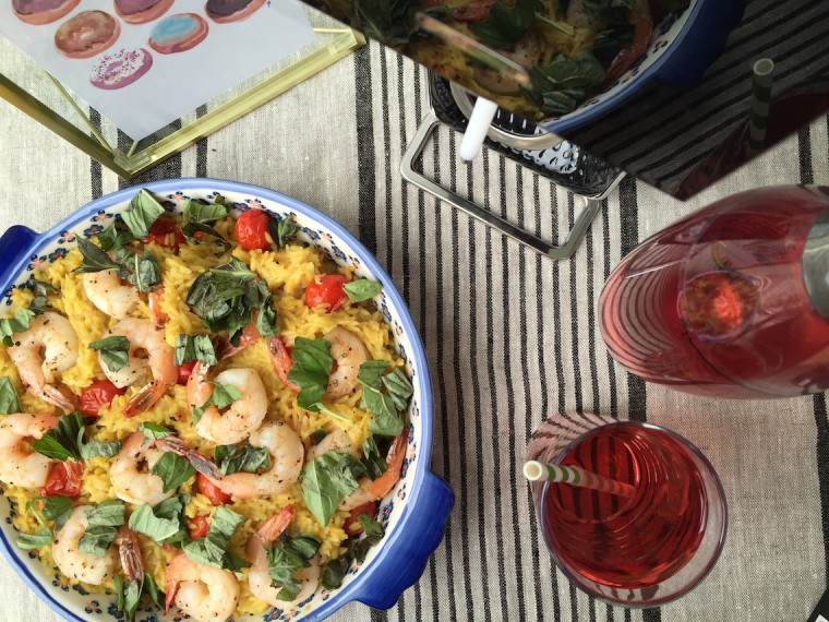 fresh prep shrimp and tomato orzo 2