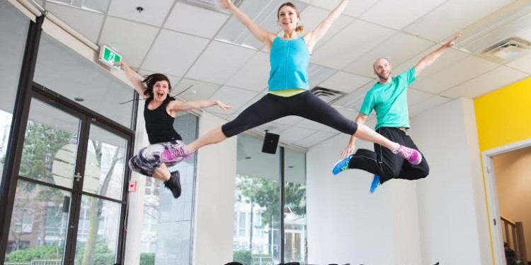 vancouver trampoline class and workout