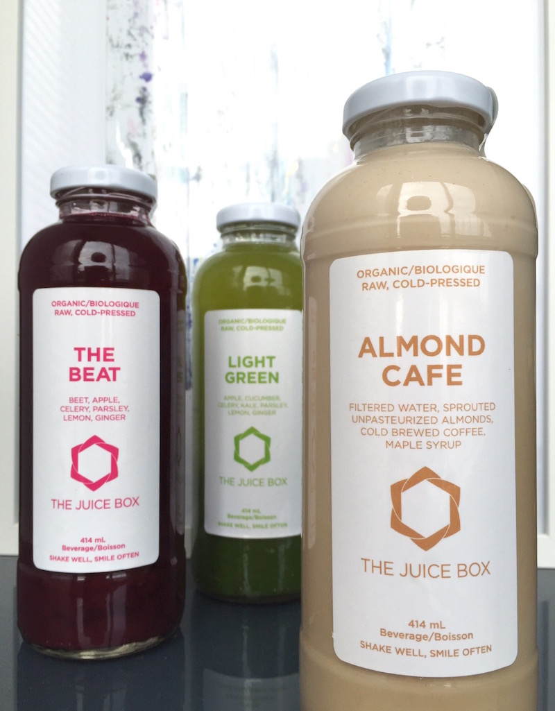 the juice box the beat light green almond cafe