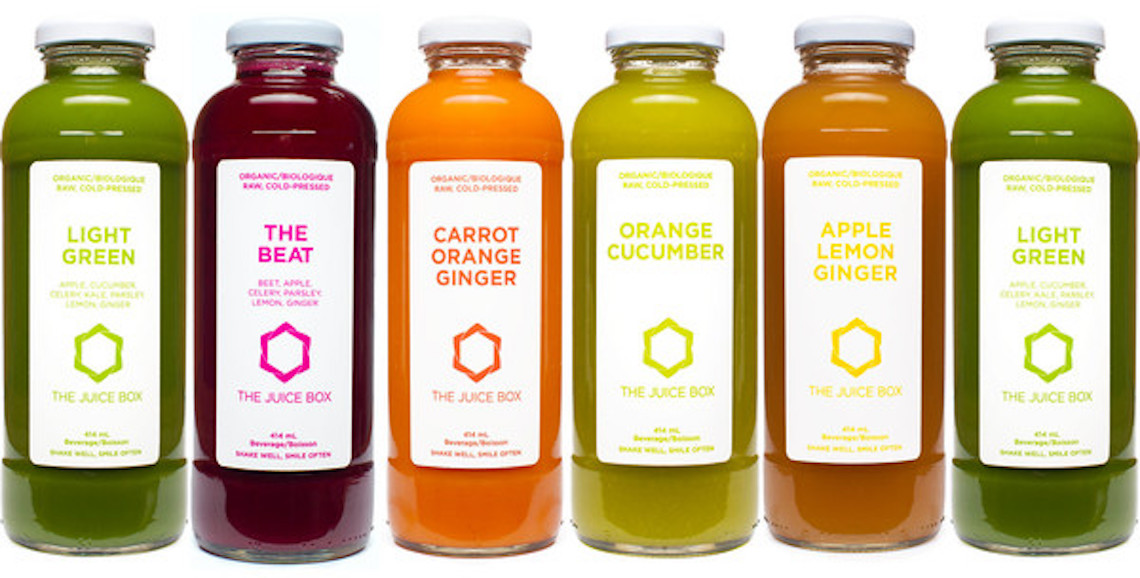The Juice Box Organic Cold Pressed Juice Delivery Service
