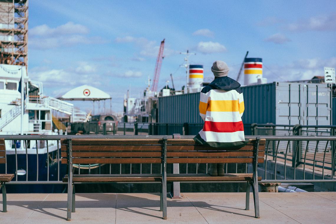 Hudson's Bay x Stutterheim Stockholm raincoat 2