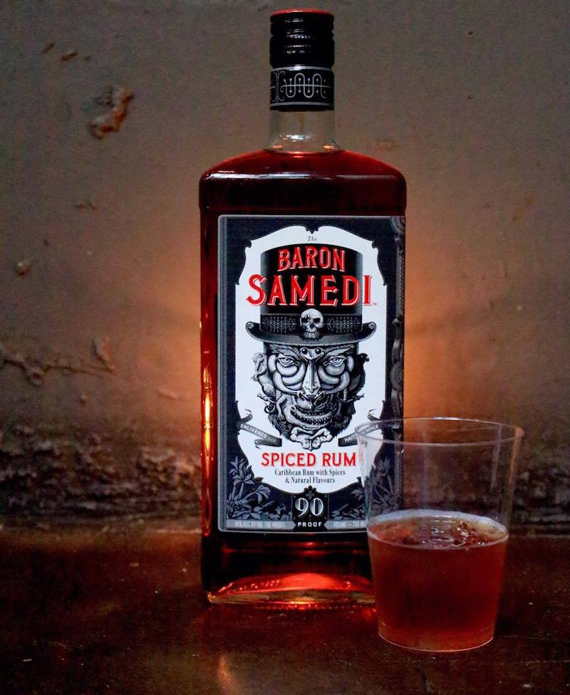 take a walk on the dark side with baron samedi spiced rum
