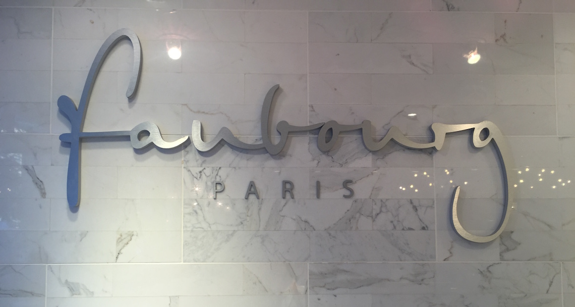 faubourg sign