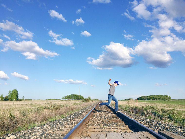 Foam Lake Saskatchewan Railway Tracks