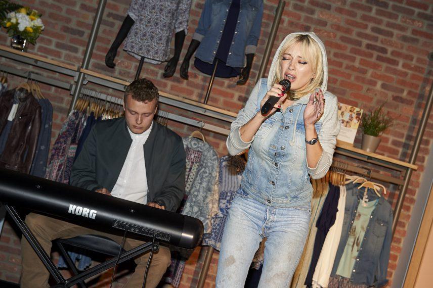 Caroline Vreeland at the Opening at ESPRIT at Metropolis at Metrotown