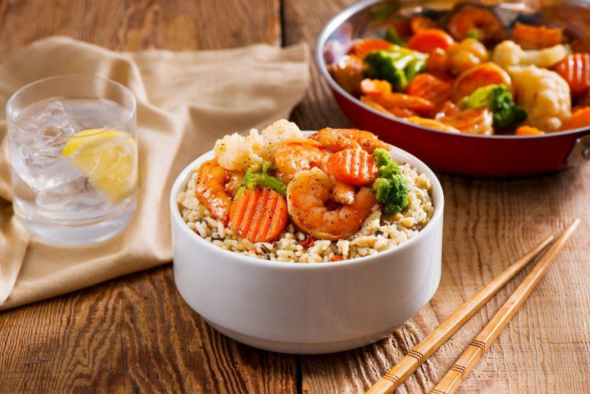 Meet2Eat - Basmati Medley with Vegetables and Shrimp-024