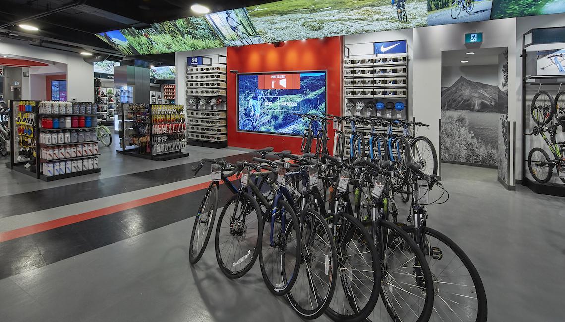Sport Chek Vancouver Bikes
