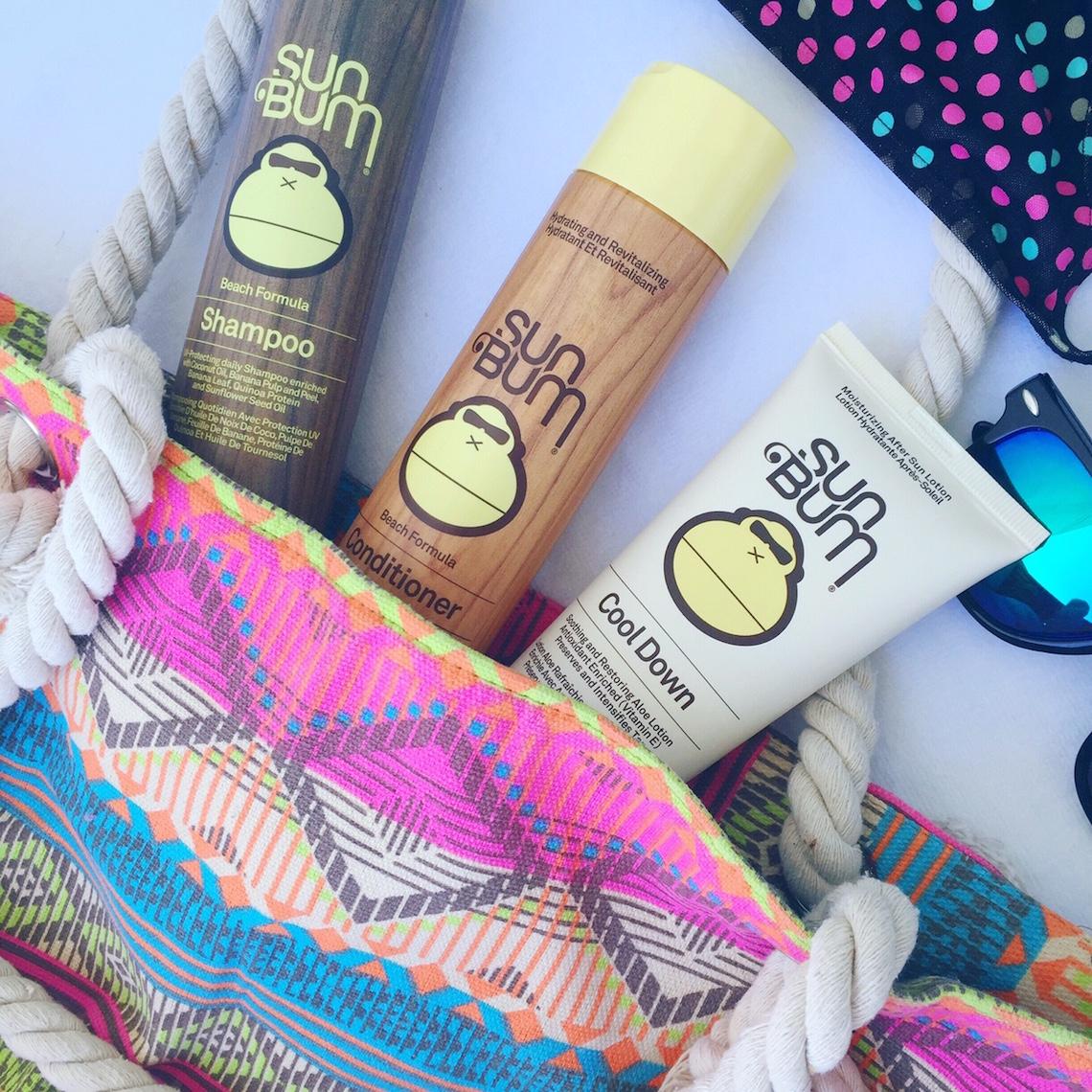 sun bum hair care line