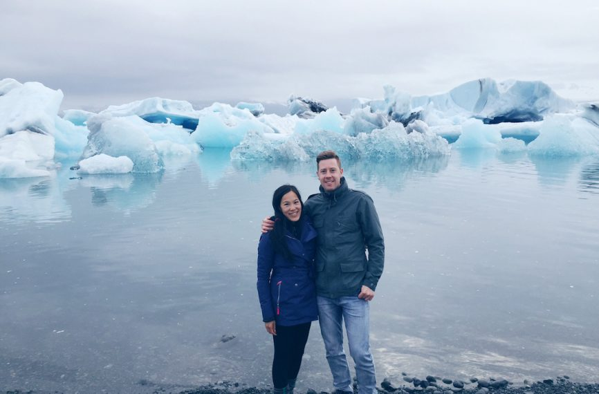 Icebergs at jokulsarlon glacier lagoon Iceland 4