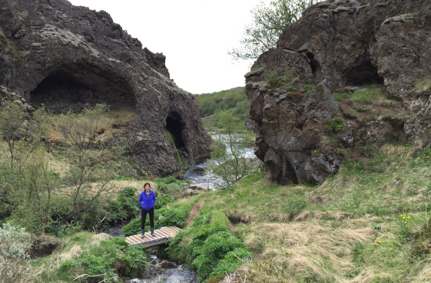 Iceland Gjain Valley Hike and Waterfalls 4