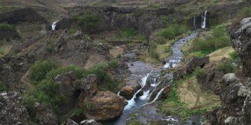 Iceland Gjain Valley Hike and Waterfalls 5