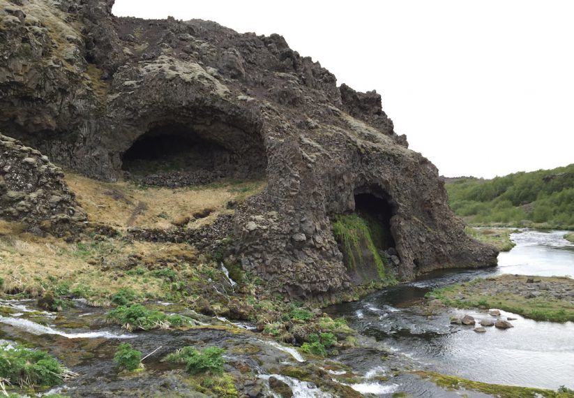 Iceland Gjain Valley Hike and Waterfalls 6