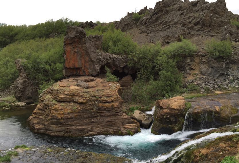 Iceland Gjain Valley Hike and Waterfalls 7