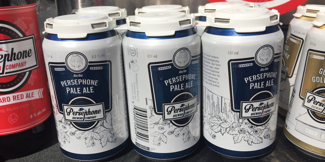 Persephone Pale Ale Vancouver Craft Beer