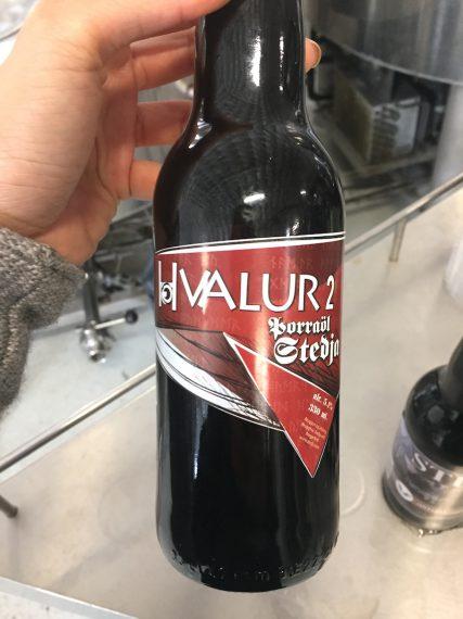 Stedji icelandic craft beer whale beer