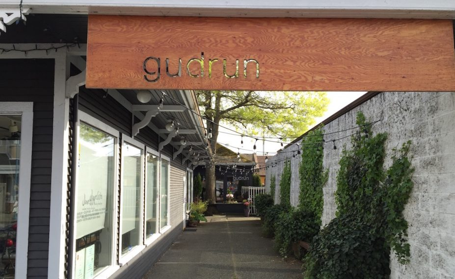 Gudrun Tasting Room - for tapas and charcuterie. (Closed on Sundays)