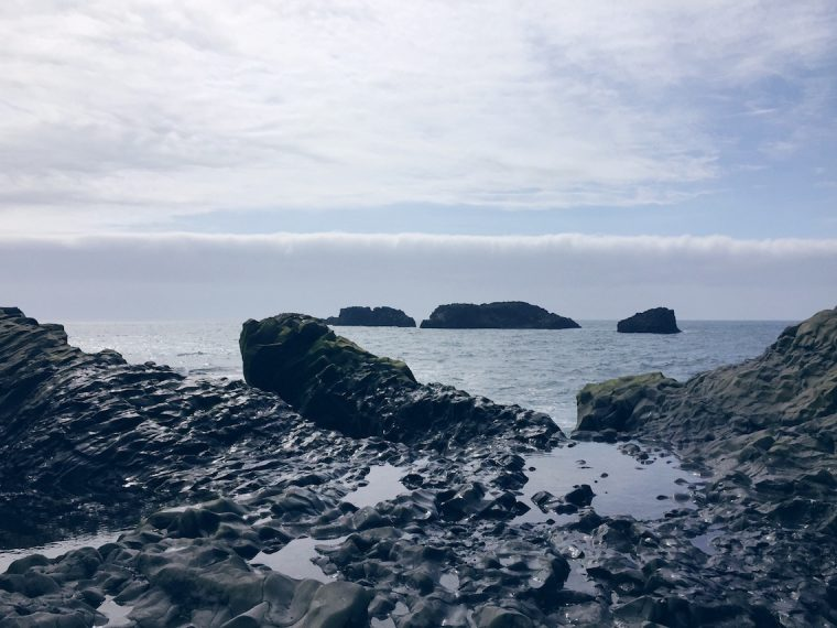 Vik South Iceland Black Sand Beach Photo