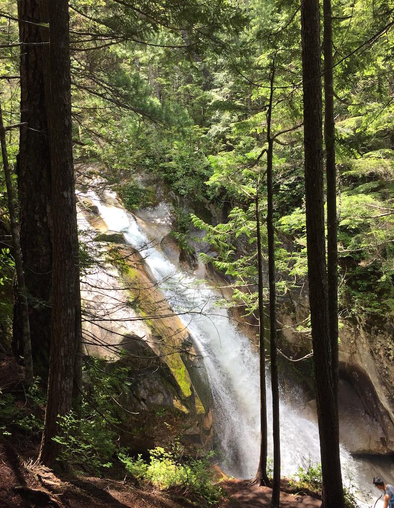 sea to sky summit trail shannon falls