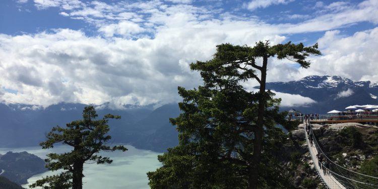 sea to sky summit trail suspension bridge