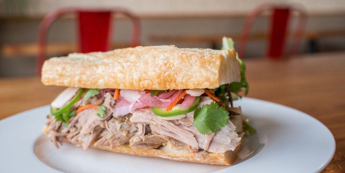 Railtown Cafe Pork Sandwich