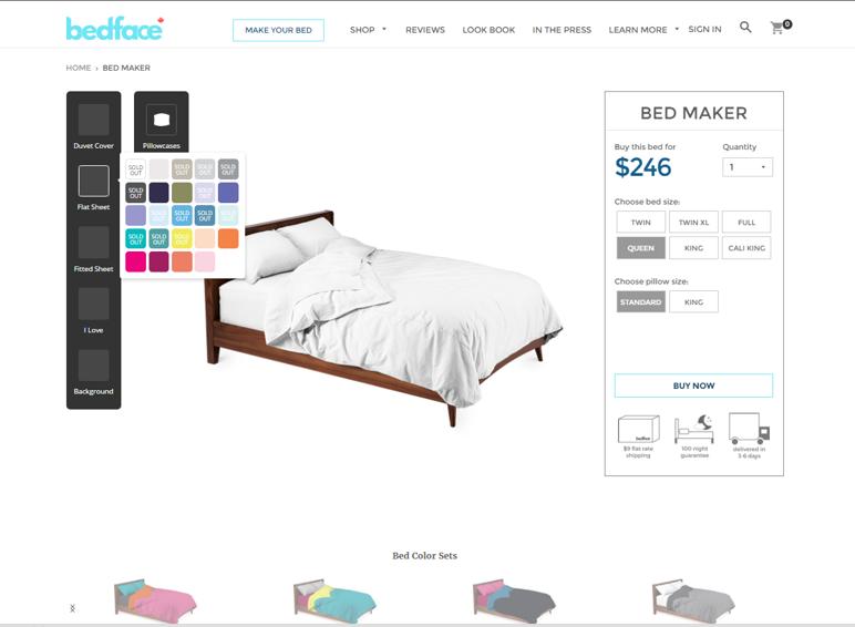 bedface screenshot