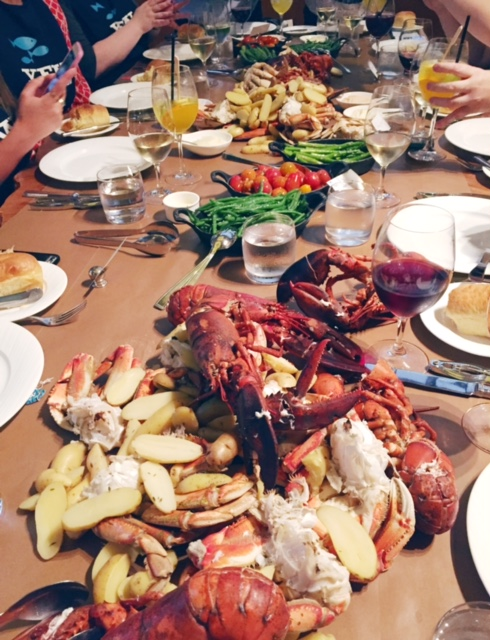 Crab and Lobster Boil at YEW (Four Seasons Vancouver)