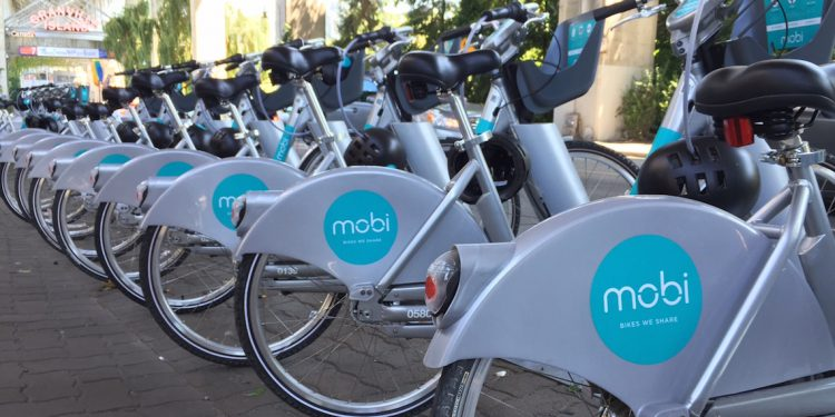 mobi bike sharing program vancouver