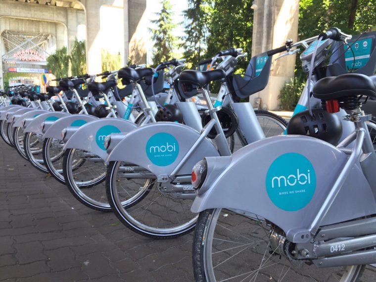 mobi bike sharing program vancouver