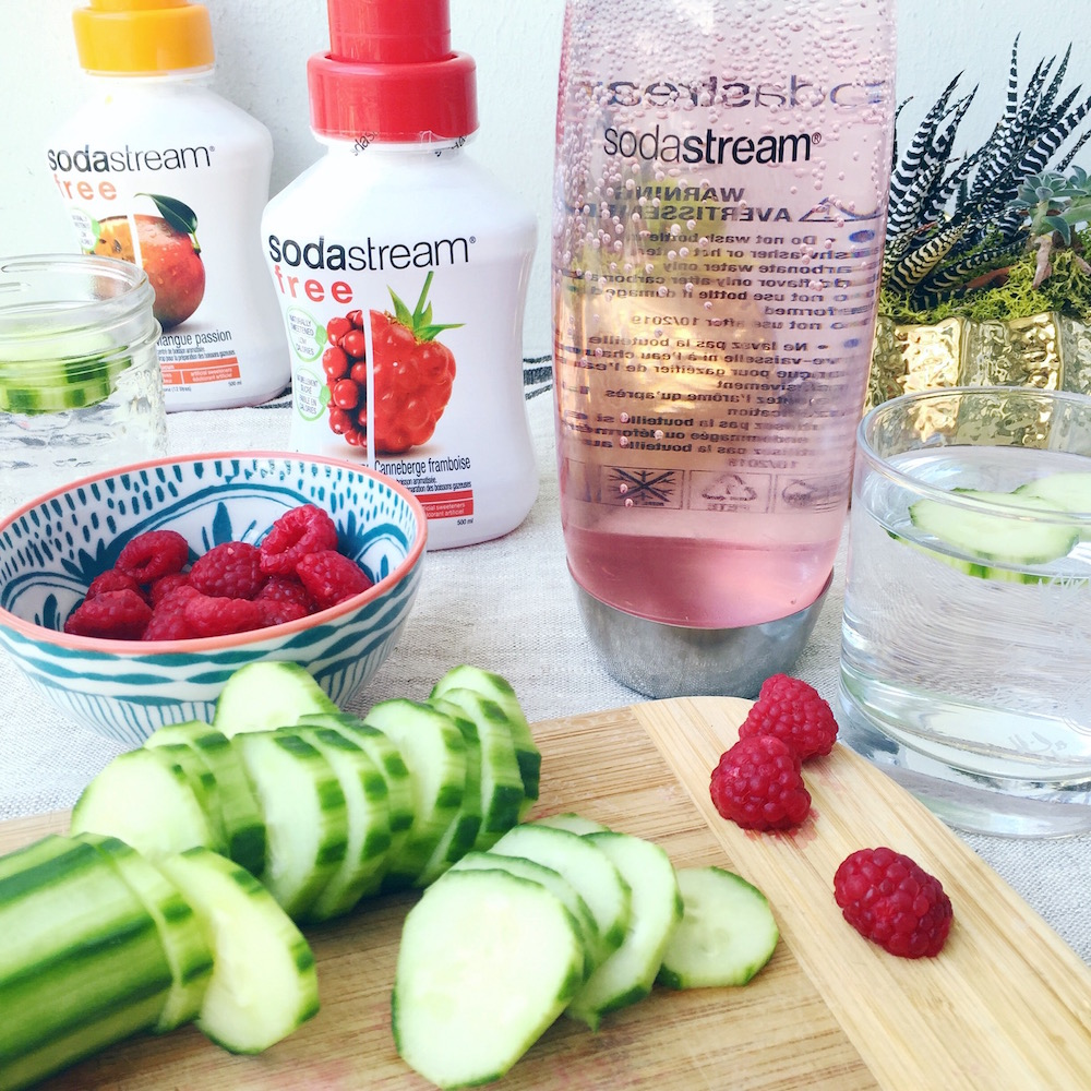 summer hydration tips with sodastream