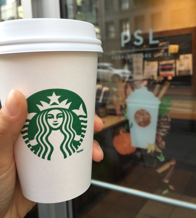 Cozy Up With Fall-Inspired Drinks From Starbucks Canada