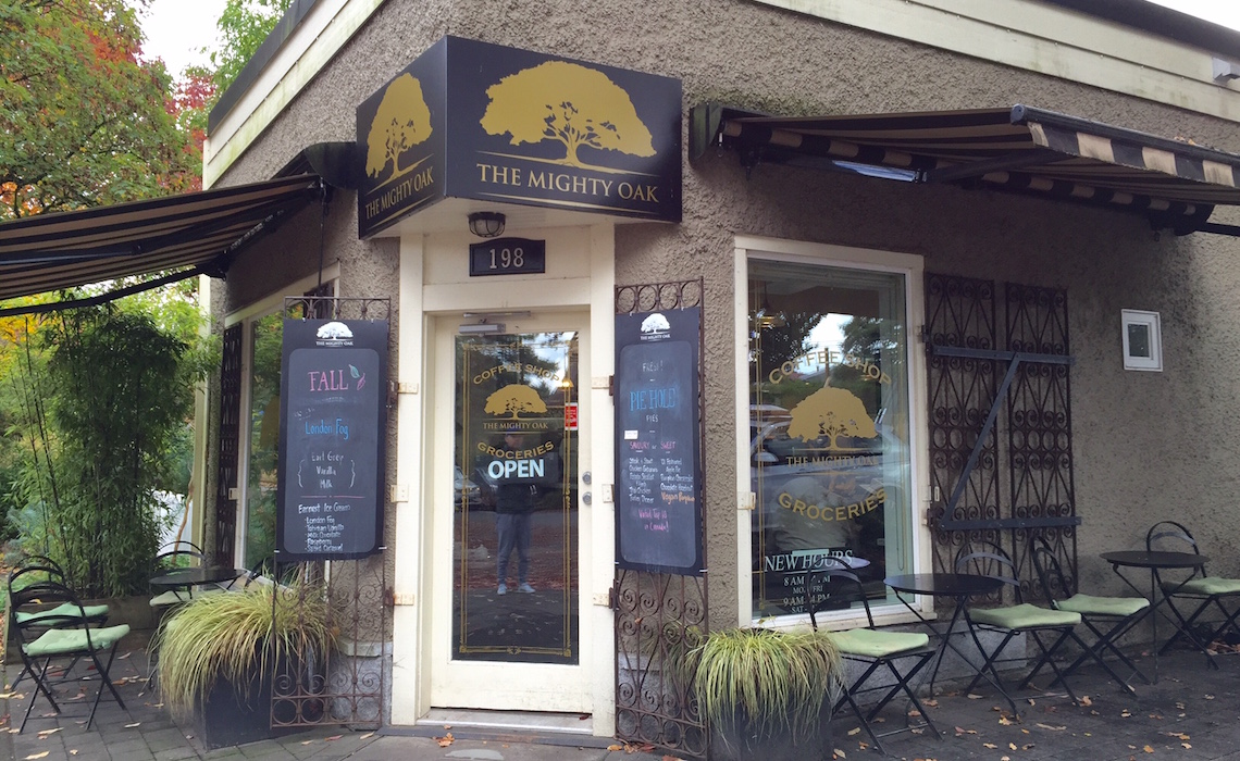 The Mighty Oak Cafe Vancouver