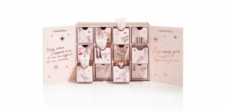 Charlotte Tilbury World of Legendary Parties 2016 Advent Calendar