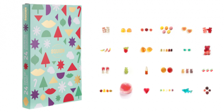 Squish Candies Gummy Advent Calendar