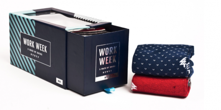 Arborist Work Week Sock Pack for Men
