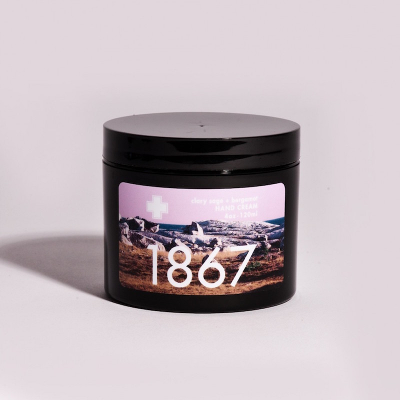 1867 Hand Cream: named in celebration of the formation of the Federal Dominion of Canada.