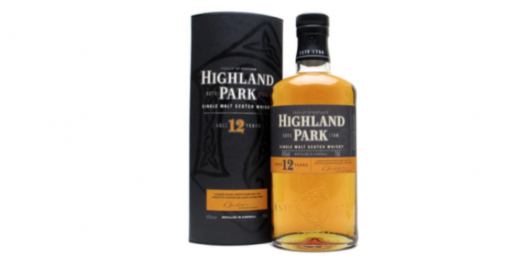 Highland Park 12 Year Old Single Malt Scotch Whisky